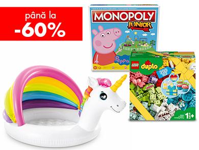 Jocuri și jucării, bucurii pentru copii
